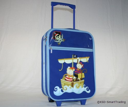 Kinder Reisetrolley blau