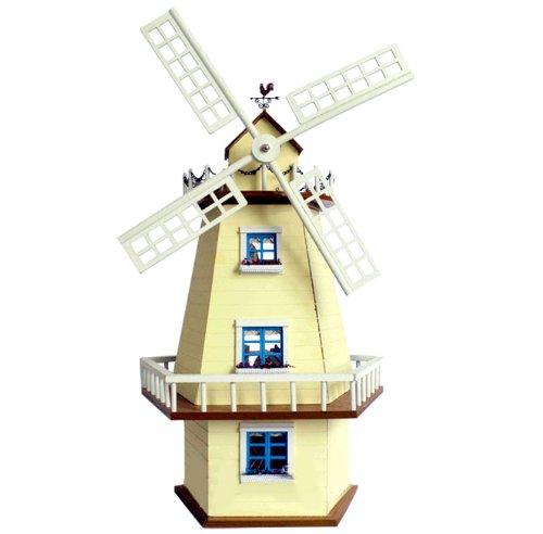 Il est recommand? ? un pr?sent de maison de maison de poup?e miniature flux de musique de moulin ? vent (japon d'importation)