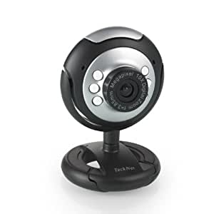 TeckNet® C016 USB HD 720P Webcam, 5 MegaPixel, 5G Lens, USB Microphone & 6 LED