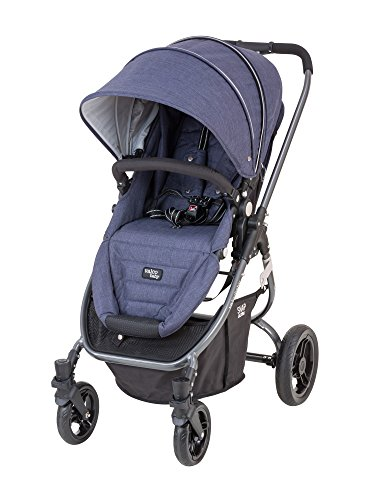 Valco Baby Snap Ultra Lightweight Reversible Stroller (Blue Denim) - 1