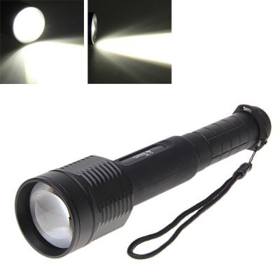 Cree Xml-T6 10W 1000Lm 3-Mode Adjustable Led Flashlight Torch Ultrafire T8 (2*18650)