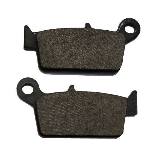 2006-2008 Suzuki RM 125 Semi Metallic Rear Brake Pads motorcycle front and rear brake pads for yamaha fz1 fazer 3c3 half fairing non abs 2006 2015 sintered brake disc pad
