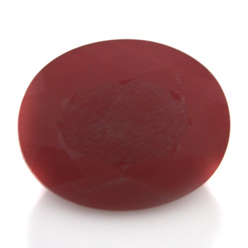 Natural Africa Red Andesine Loose Gemstone Oval Cut 8*10mm 2.60cts VS Grade