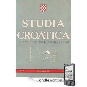 Studia Croatica - números 28-31 - 1968 (Spanish Edition)