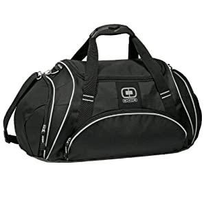 Ogio Crunch Duffle Bag (Black)