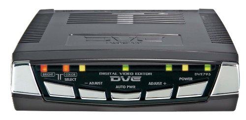 PROSPEC デジタルビデオ編集機  DVE793 S端子/ピン端子入出力搭載 スタンダードモデル ブラック