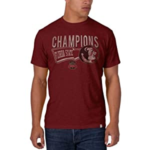 Buy NCAA Florida State Seminoles 2013 BCS Football National Championship Scrum Tee by '47 Brand