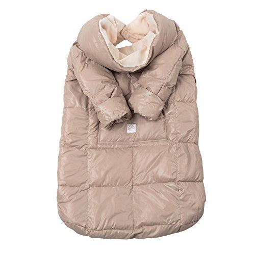 7AM Enfant Easy Cover Bunting Bag, Beige, Large