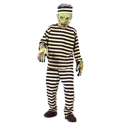 Fun World Costumes Boys Fun World Zombie Convict Costume with Mask