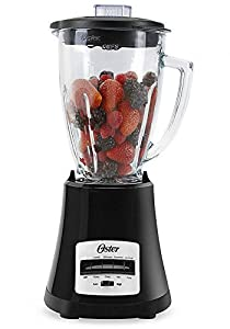 Oster BLSTMG Black 8 Speed 6-Cup Glass Jar Blender, 220 Volts (Not for USA)