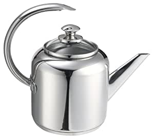 Calphalon Collectors Edition 2-Quart Stainless Steel Tea Kettle with Glass Lid