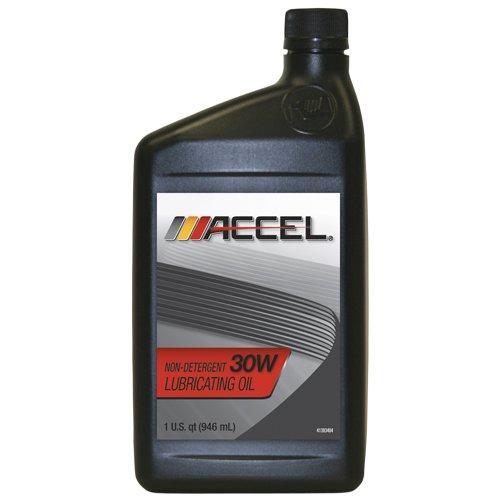 accel-80511-sae-30-non-detergent-motor-oil-1-quart-bottle-case-of-12