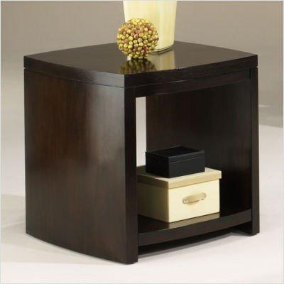 Cheap Hammary T1074220-00 Salon Rectangular End Table in Mid – Tone Mahogany (T1074220-00)