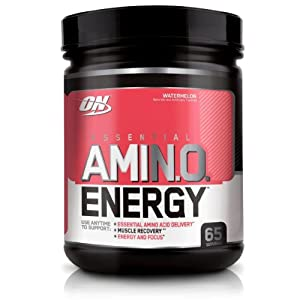 Optimum Nutrition Essential Amino Energy, Watermelon, 65 Serving, 1.29 Pound
