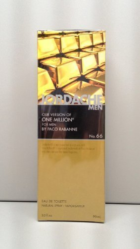 Jordache version of Paco Rabanne One Million for Men, 3.0 fl oz
