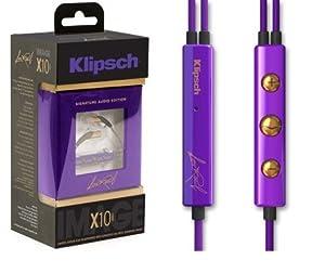 Klipsh (クリプシュ) IMAGE X10i<限定モデル> Lou Reed Limited Edition Apple製品互換 3ボタン/リモコン&マイク搭載 海外正規/並行輸入