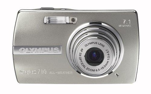 Olympus Stylus 710 7.1MP Ultra Slim Digital Camera with 3x Optical Zoom (Silver)