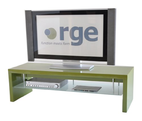 Rge Designs himry televisor de pantalla y unidad, 140 x 48 x 40 cm, color verde