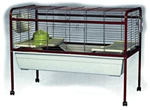 Bunny 5 extra large rabbit guinea pig cage with stand for Extra large rabbit cage