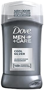 Dove Men+Care Cool Silver Deodorant,3.0 oz