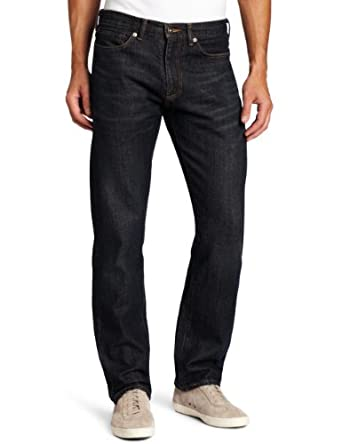 Dockers Men's 5 Pocket D2 Straight Fit Jean, Deep Blue, 30x30