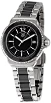 TAG Heuer Womens WAH1212.BA0859 Formula One Black Dial Watch