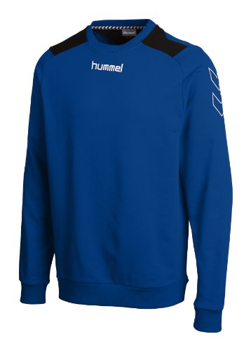 Hummel, Felpa Roots, Blu (true blue), XL