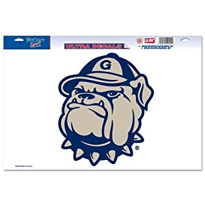 Buy Georgetown Hoyas Official NCAA 11x17 Car Window Cling Decal by WinCraft