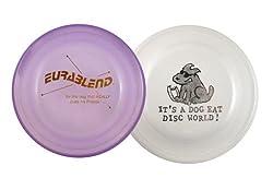 Eurablend Frisbee® disc and Standard Frisbee® Fastback