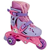Bravo Sports Disney Princess Junior Sparkle Convertible 2-in-1 Skate, 6-9