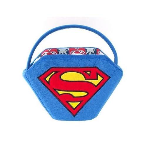Amazon.com: Easter Baskets Plush Superman Basket - Blue/ Red