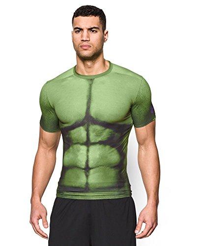 Under armour men s alter ego hulk compression shirt year for Hulk under armour compression shirt