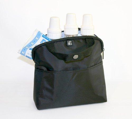 JL Childress MaxiCOOL 4 Bottle Cooler, Black