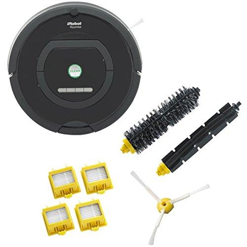 iRobot Roomba 自動掃除機 ルンバ770 オリジナルセット(ルンバ770、交換用フィルター(2セット)、交換用エッジクリーニングブラシ(1本)、交換用メインブラシ(1本)、交換用フレキシブルブラシ(1本)付属) 77069