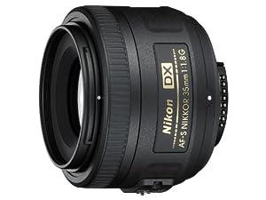 Nikon AF-S DX Nikkor 35mm 1:1,8G Objektiv (52mm Filtergewinde)