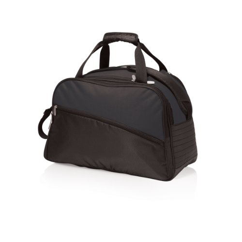 Picnic Time Tundra Insulated Cooler Duffel Bag, Black front-620583