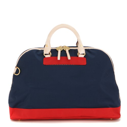 Danzo Diaper Retro Bag, Classic Navy/Red front-400318