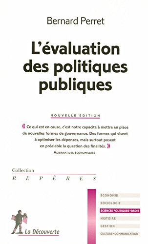 EVALUATION POLITIQUES PUBLIQUE