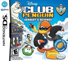 Disney Club Penguin- Herberts Revenge (Nintendo Ds)