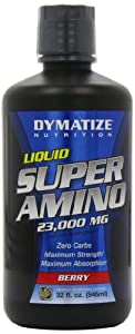 Dymatize Nutrition Liquid Super Amino 23000mg, Berry, 32 Ounce