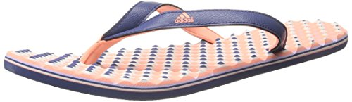 Adidas Performance Women's Eezay Dots W Athletic Sandal,Raw Purple/Sun Glow Yellow/Glow Purple,8 M US