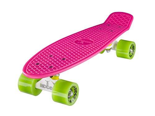 ridge-mini-cruiser-skate-skateboard-retro-22-completo-con-carrelli-nero-o-bianco-fatto-in-lue-cuscin