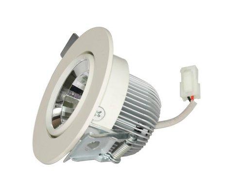Landivi Ldv-Dln2057 7 W 2.5Inch Cob Led Downlight Ceiling Light, 350Lm Cri 80,Ip 20 Waterproof Indoor Commercial Lighting