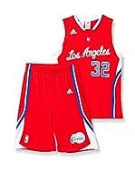 adidas Conjunto Deportivo Los Angeles Clippers (Rojo / Blanco)