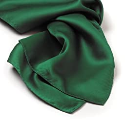 Pocket Square Silk - Kelly Green