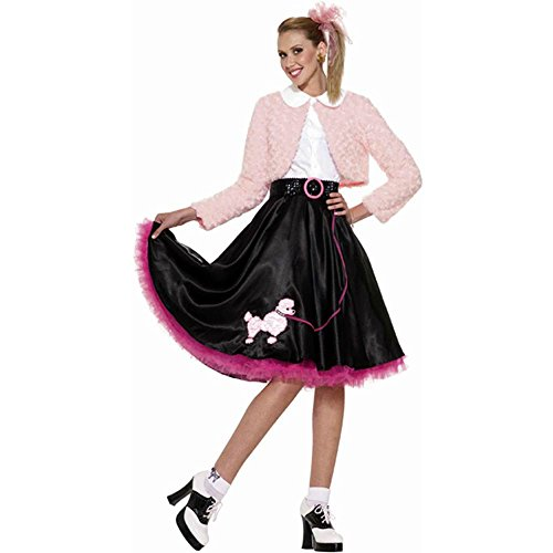 50s Sweetheart Poodle Adult Costume - Standard