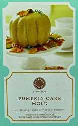 MARTHA STEWART Silicone Pumpkin Cake Mold