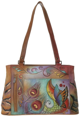 Anuschka 449 COL Tote,Collage,One Size