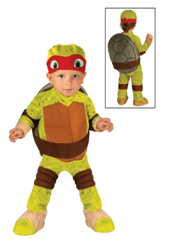Little Boys' Toddler Teenage Mutant Ninja Turtle Raphael Costume