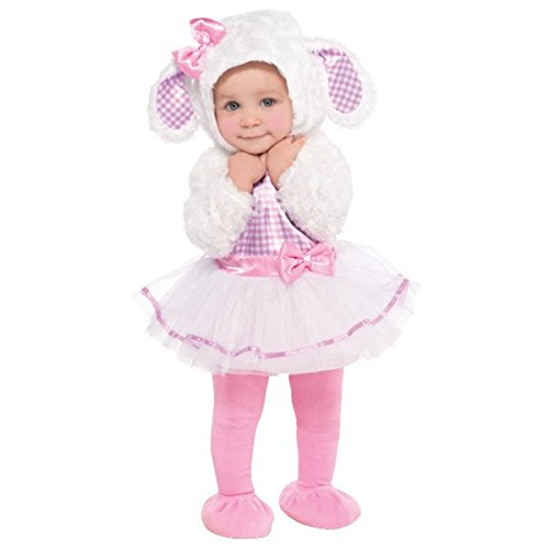 Little Lamb Halloween Costume (12-24 months) (Cute Scary Halloween Costumes)